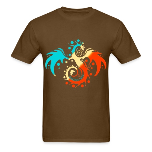 Tri-Color Talia Basic Tee - Men's T-Shirt
