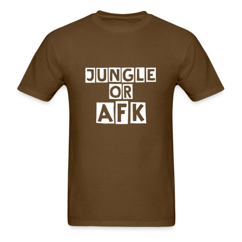 JUNGLE or AFK - Men's T-Shirt