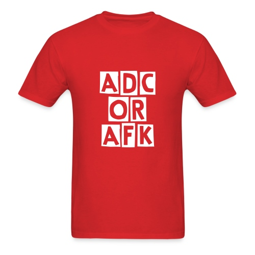ADC or AFK - Men's T-Shirt
