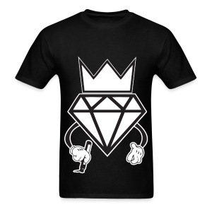 diamond crown graffiti T-Shirts - Men's T-Shirt