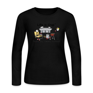 Why Theres Football - Womens Long Sleeve T-Shirt - Women's Long Sleeve Jersey T-Shirt