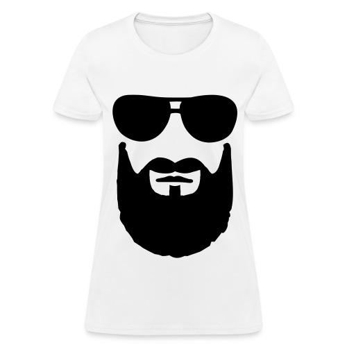 Glasses n beard - Women's T-Shirt