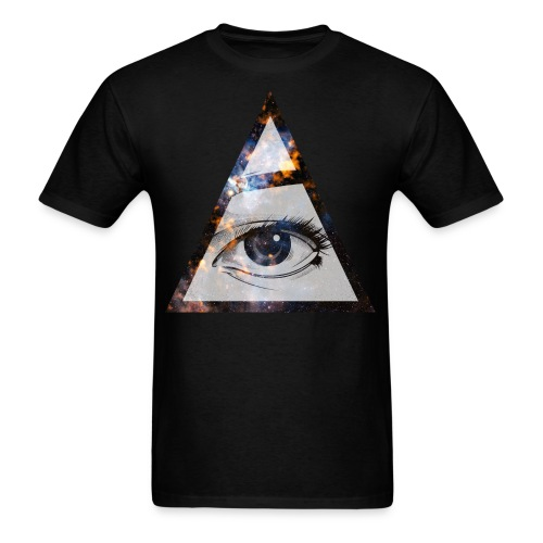 Triangle Eye - Men's T-Shirt