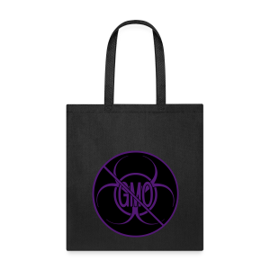 No GMO Tote Bag NO GMO Activism Bio-hazard Shopping Bags - Tote Bag