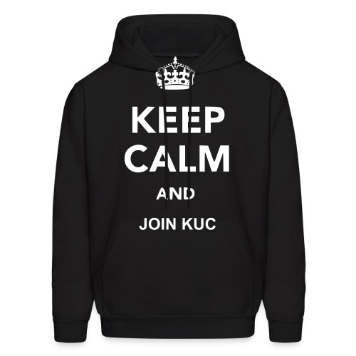 Keep calm and join KUC - Men's Hoodie