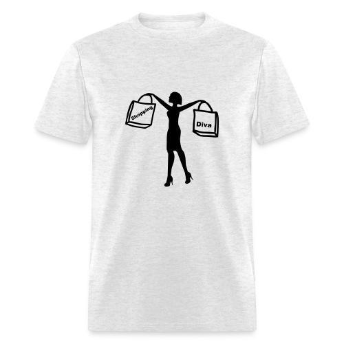 Shopping Diva - Men's T-Shirt