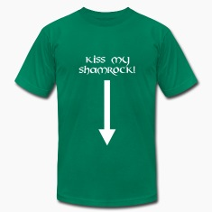 kiss my shamrock st. patrick´s day T-Shirts