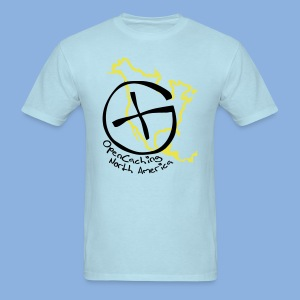 OCNA Logo Light Blue Men's Lightweight T-Shirt - Men's T-Shirt