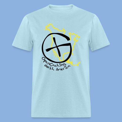 OCNA Logo Light Blue Men's Lightweight T-Shirt - Men's T-Shirt