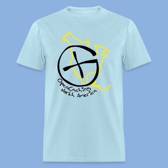 OCNA Logo Light Blue Men's Lightweight T-Shirt