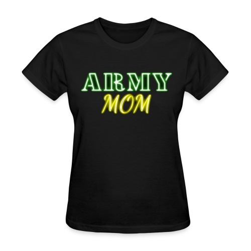 Army Mom Neon - Women's T-Shirt