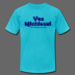 Yes Michigan! - Men's Fine Jersey T-Shirt