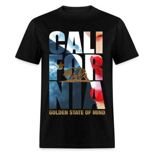 CALFORNIA logo - Men's T-Shirt