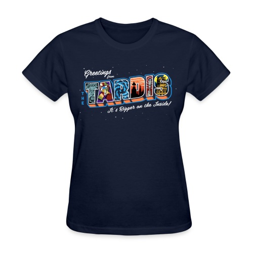 Greetings from... - Women's T-Shirt