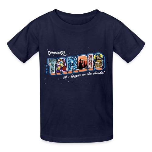 Greetings from... - Kids' T-Shirt