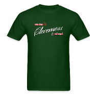T-Shirts ~ Men's T-Shirt ~ Men's Cleverness