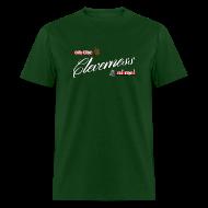 T-Shirts ~ Men's T-Shirt ~ Men's Cleverness