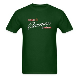 Men's Cleverness - Men's T-Shirt
