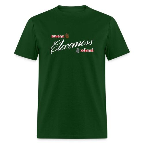 Men's Cleverness - Men's T-Shirt