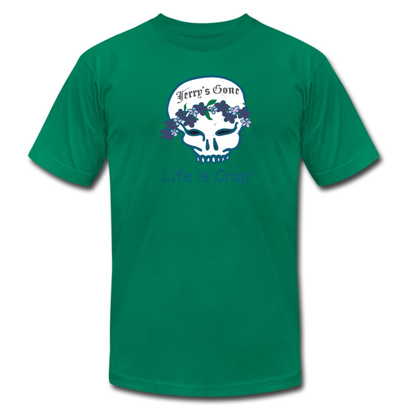 Jerrys Gone -  Mens T-shirt by American Apparel - Men's Fine Jersey T-Shirt