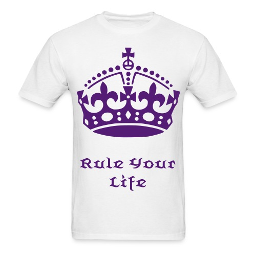 Rule Your Life T-Shirt - Men's T-Shirt