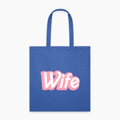 wife womanly ladies cute type Bags & backpacks