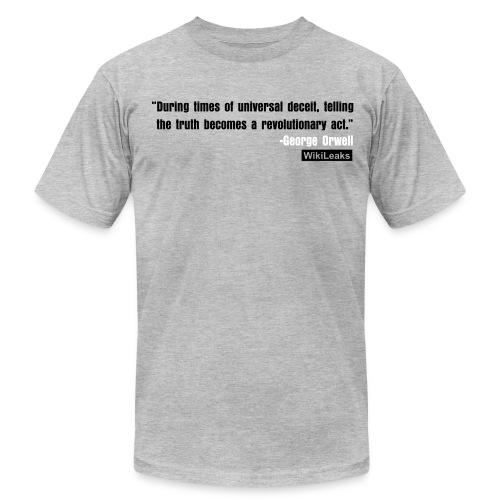 quote3_orig - Men's Fine Jersey T-Shirt