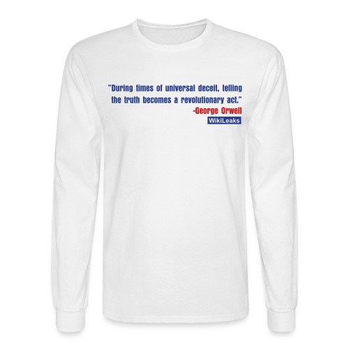 quote3_orig - Men's Long Sleeve T-Shirt