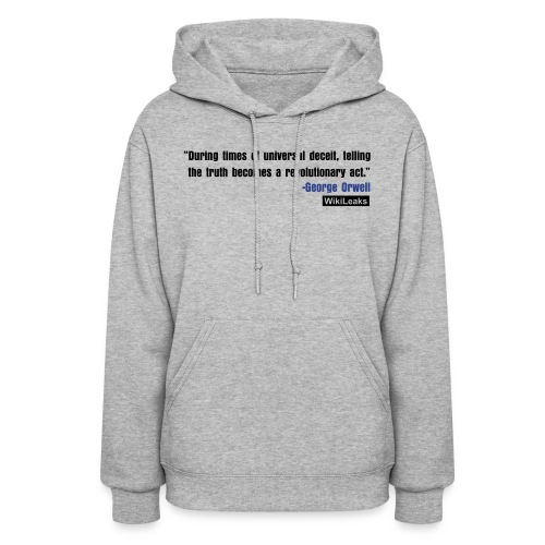 quote3_orig - Women's Hoodie