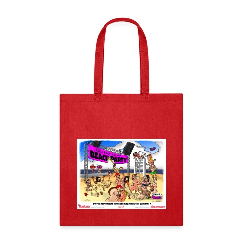 Miss Lola's Beach Party 2013!  Tote Bag - Tote Bag
