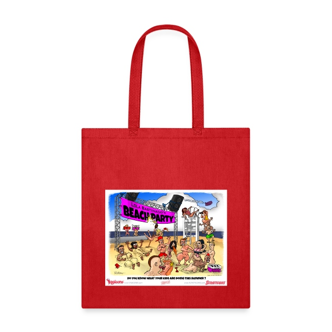 Miss Lola's Beach Party 2013!  Tote Bag