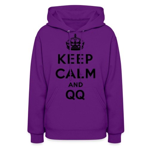 Keep Calm and QQ Women Hoodie - Women's Hoodie
