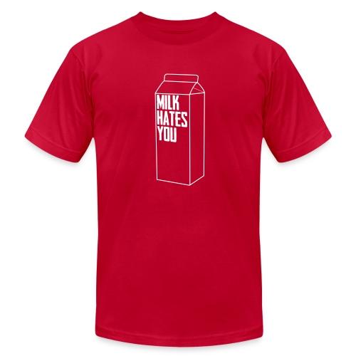 Milk Hates You - Men's Fine Jersey T-Shirt
