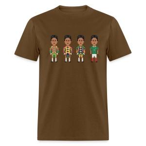 Men T-Shirt - The colorful goalkeeper - Men's T-Shirt