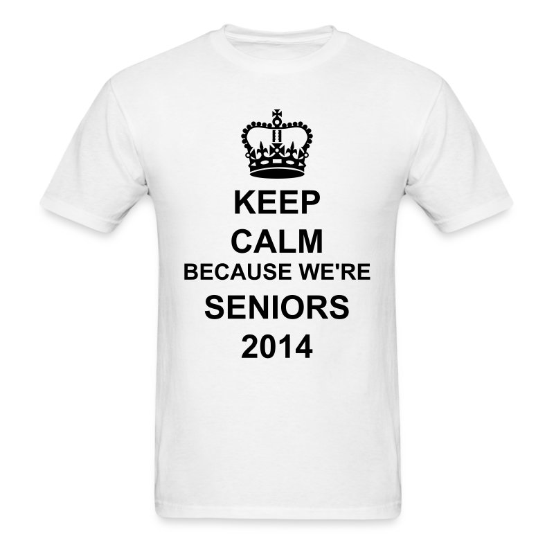 Keep Calm Seniors Men - Men's T-Shirt