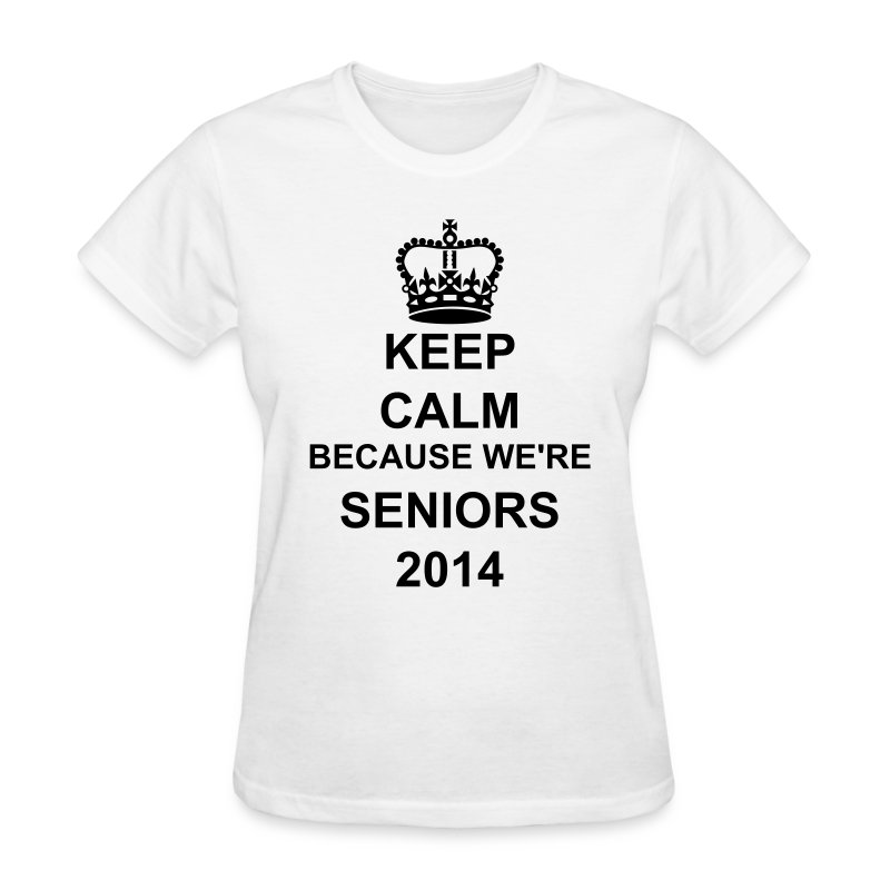 Keep Calm Seniors Women - Women's T-Shirt