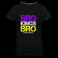 Women's T-Shirts ~ Women's V-Neck T-Shirt ~ Bro! Kings! Bro!