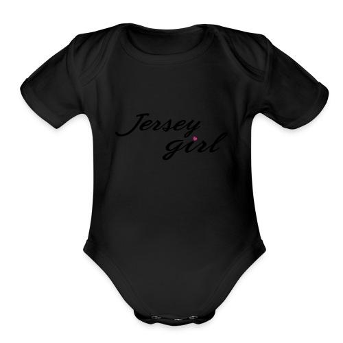 Jersey Girl - Organic Short Sleeve Baby Bodysuit
