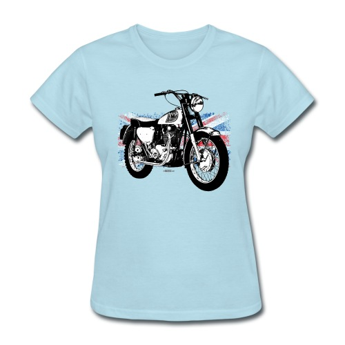 Triumph With Flag - Women's T-Shirt
