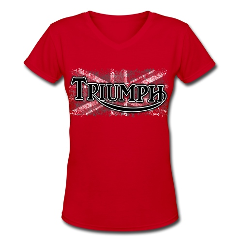 Triumph - Women's V-Neck T-Shirt