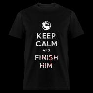 T-Shirts ~ Men's T-Shirt ~ Keep Calm and Finish Him (Mens)