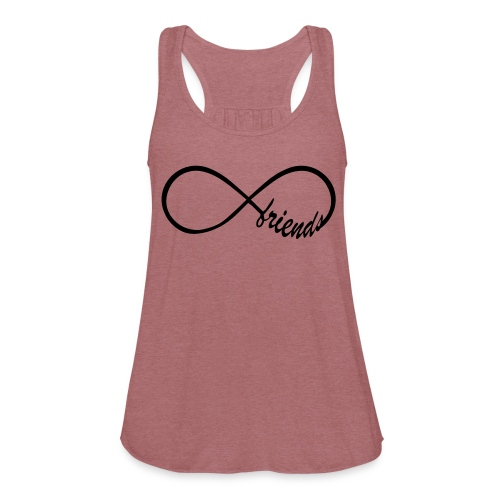 Infinite Friendship Tank - Women's Flowy Tank Top by Bella