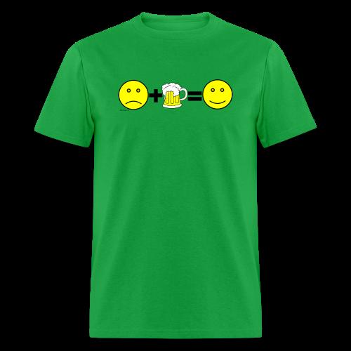 Beer: Liquid Happiness Men's T-Shirt - Men's T-Shirt