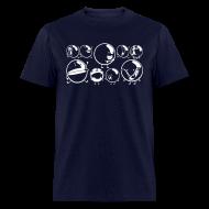 T-Shirts ~ Men's T-Shirt ~ Faces of Bubble Shirt