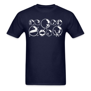 Faces of Bubble Shirt - Men's T-Shirt