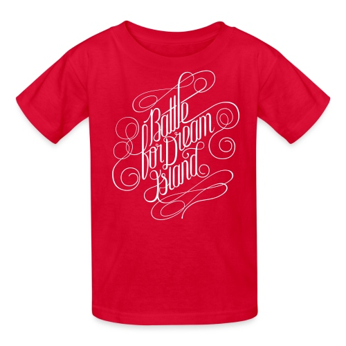 Fancy Script Shirt - Kids' T-Shirt