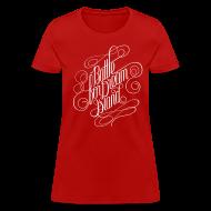 Women's T-Shirts ~ Women's T-Shirt ~ Fancy Script Shirt