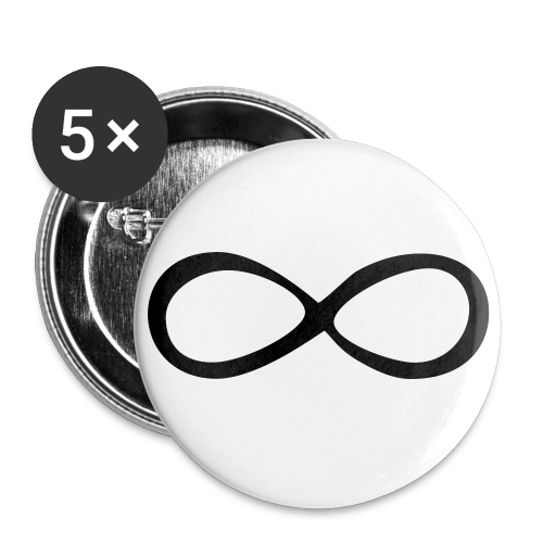 Infiniti pin - Small Buttons