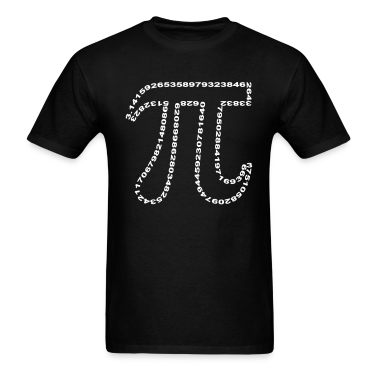 pi outline T-Shirts