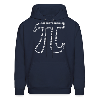 pi outline Hoodies